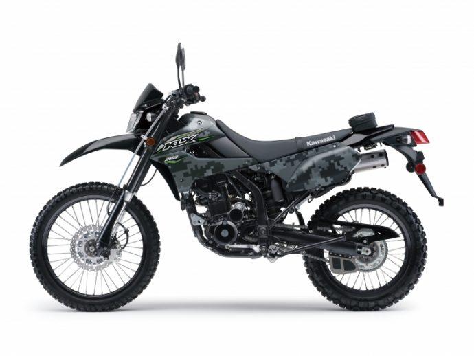 2018 Kawasaki KLX250 CAMO