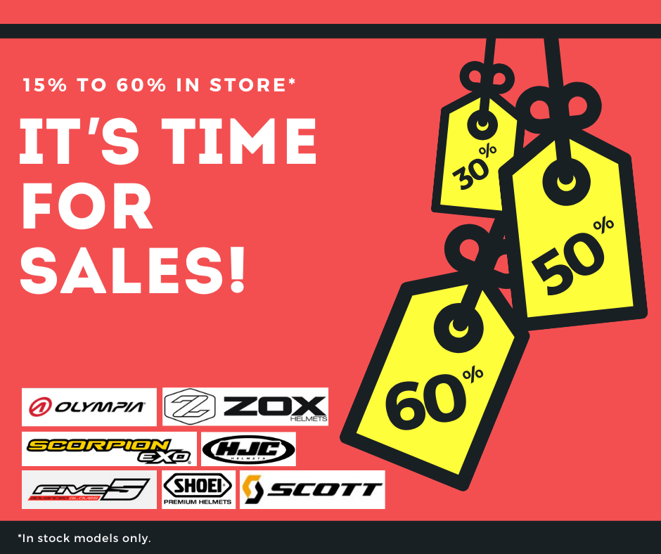 It' s time for sales!