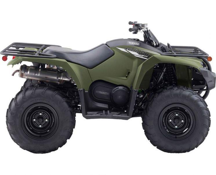 Yamaha KODIAK 450 VERT TACTIQUE 2021