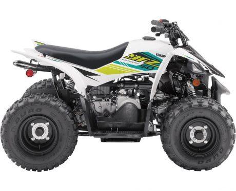 2021 Yamaha YFZ50 WHITE