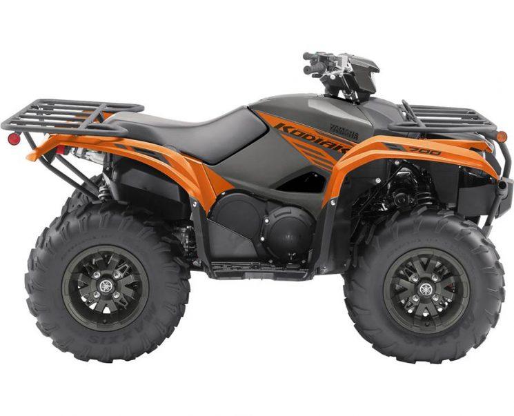 2021 Yamaha KODIAK 700 EPS SE COPPERHEAD ORANGE METALLIC