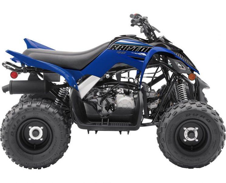 2021 Yamaha RAPTOR 90 YAMAHA RACING BLUE