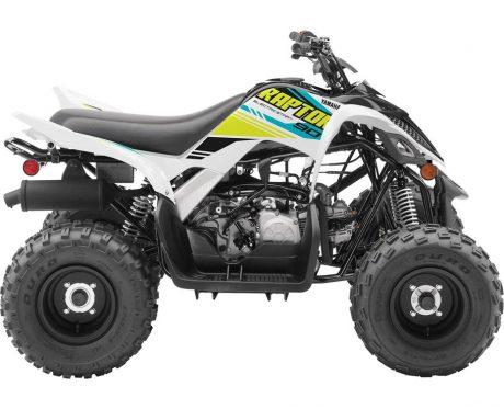 2021 Yamaha RAPTOR 90 WHITE