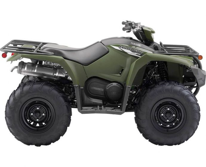2021  KODIAK 450 EPS TACTICAL GREEN